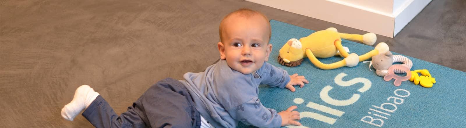 osteopatía infantil - osteopathy - fisioclinics bilbao