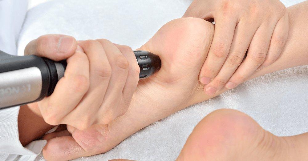 Ondas de choque calcificaciones rodilla
