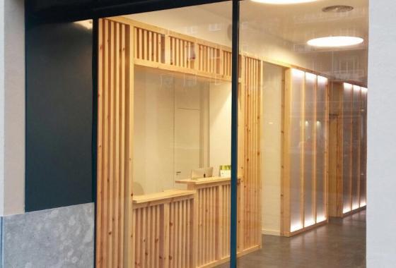 entrada fisioclinics Bilbao